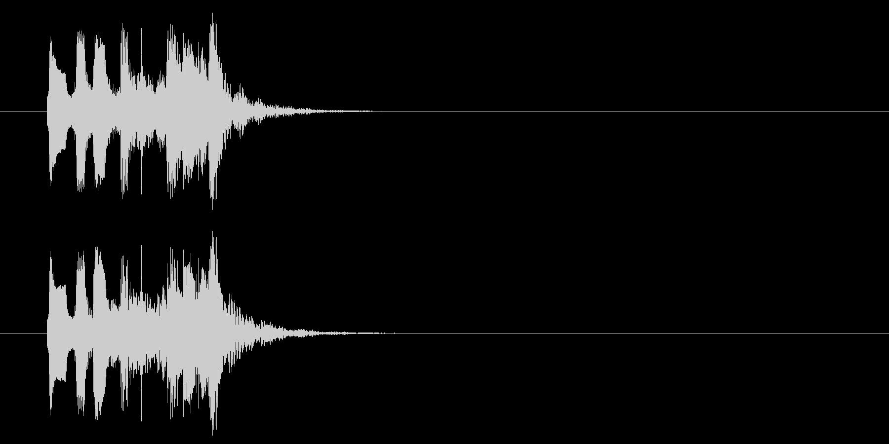 コミカル おとぼけ 子供 ほのぼの の未再生の波形