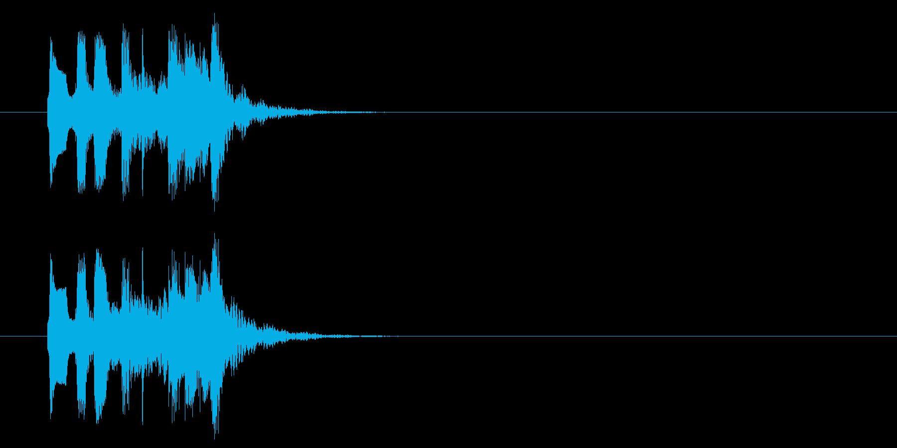 コミカル おとぼけ 子供 ほのぼの の再生済みの波形