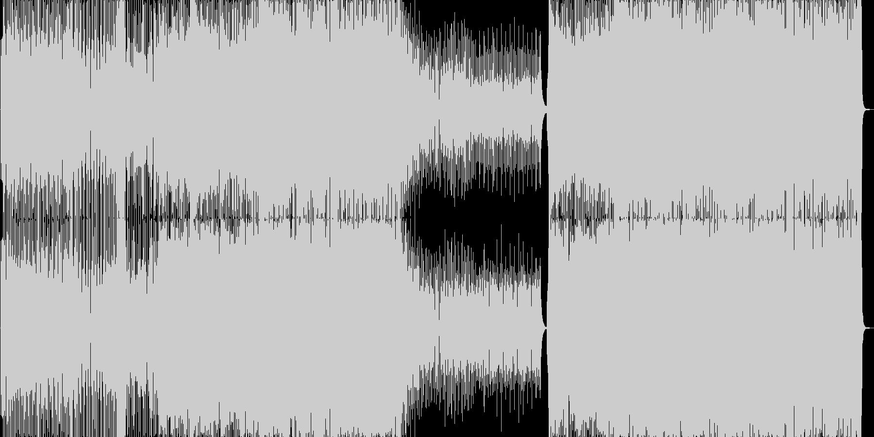 コミカルなJazzEDMですの未再生の波形