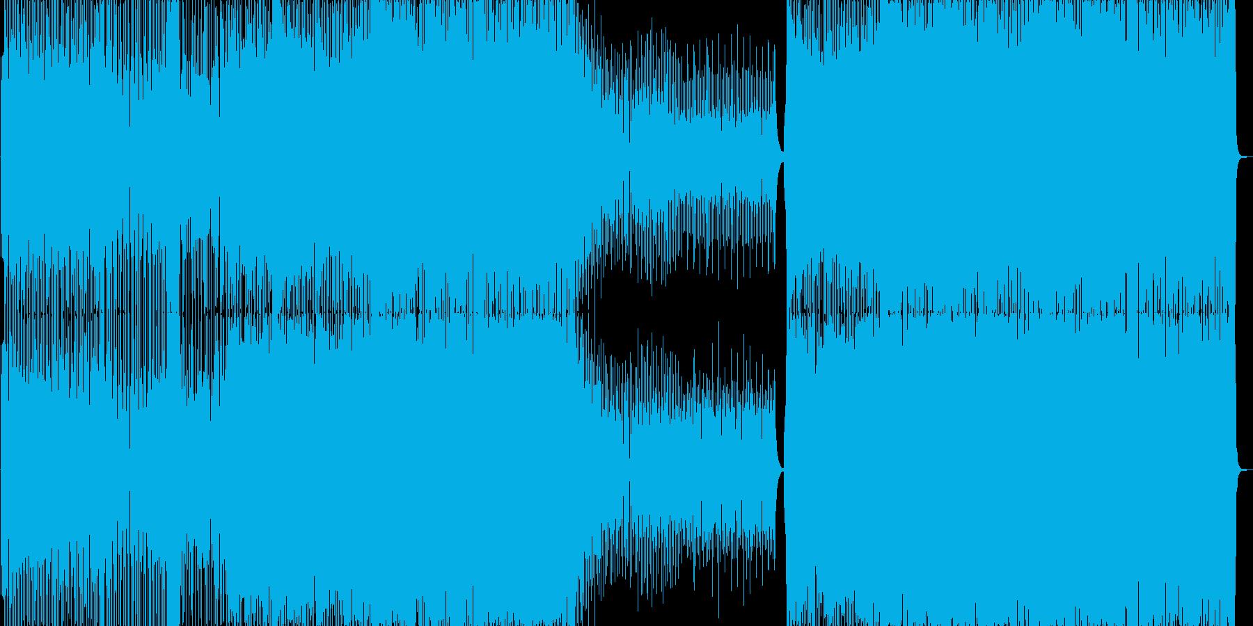 コミカルなJazzEDMですの再生済みの波形