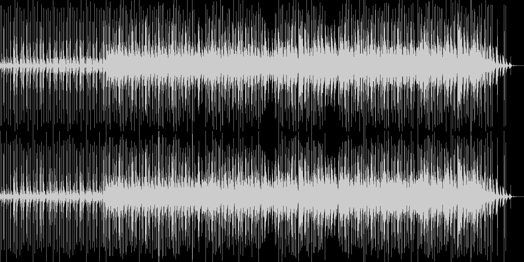 少しjazzyなbreakbeatsの未再生の波形