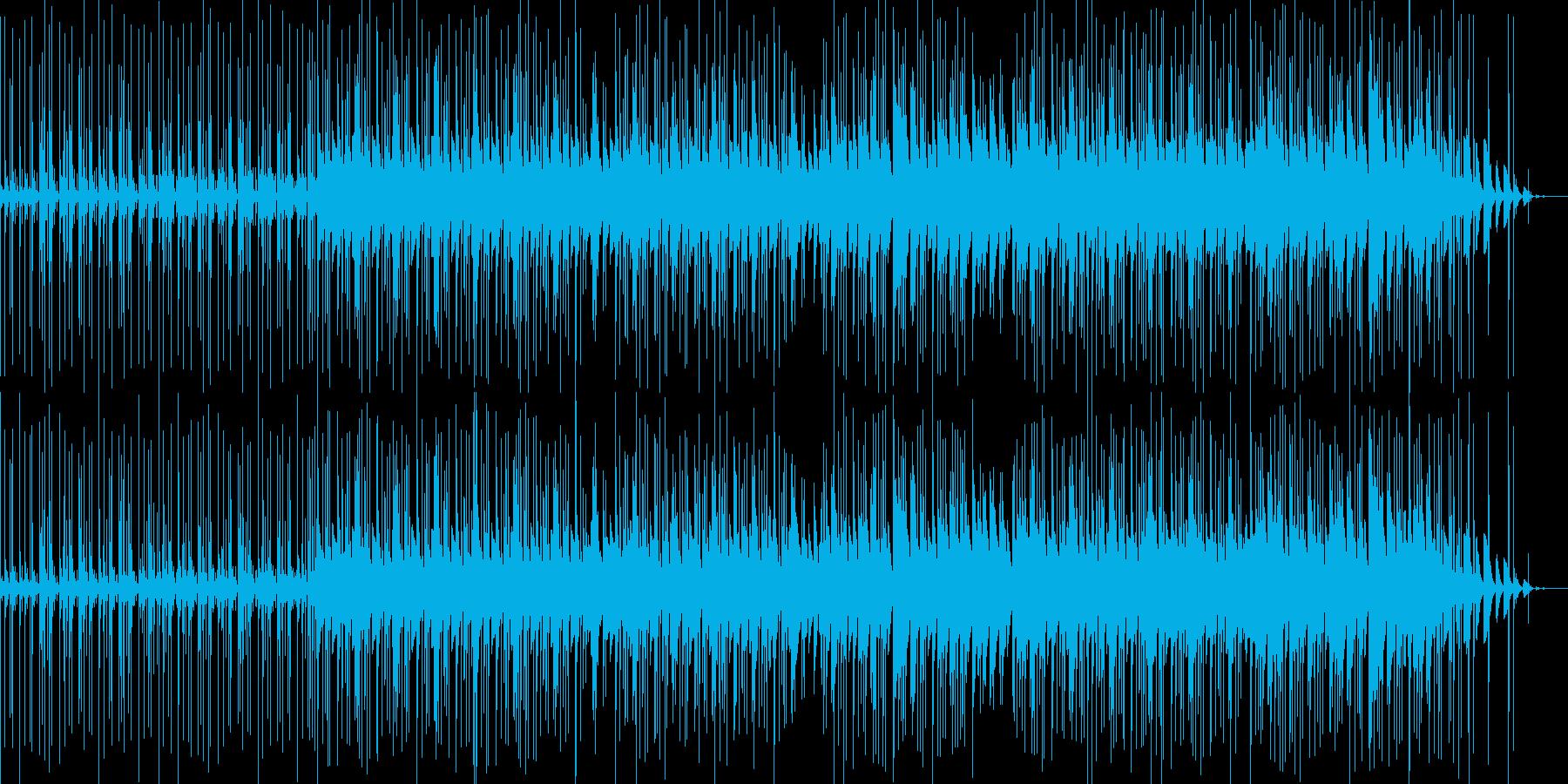 少しjazzyなbreakbeatsの再生済みの波形