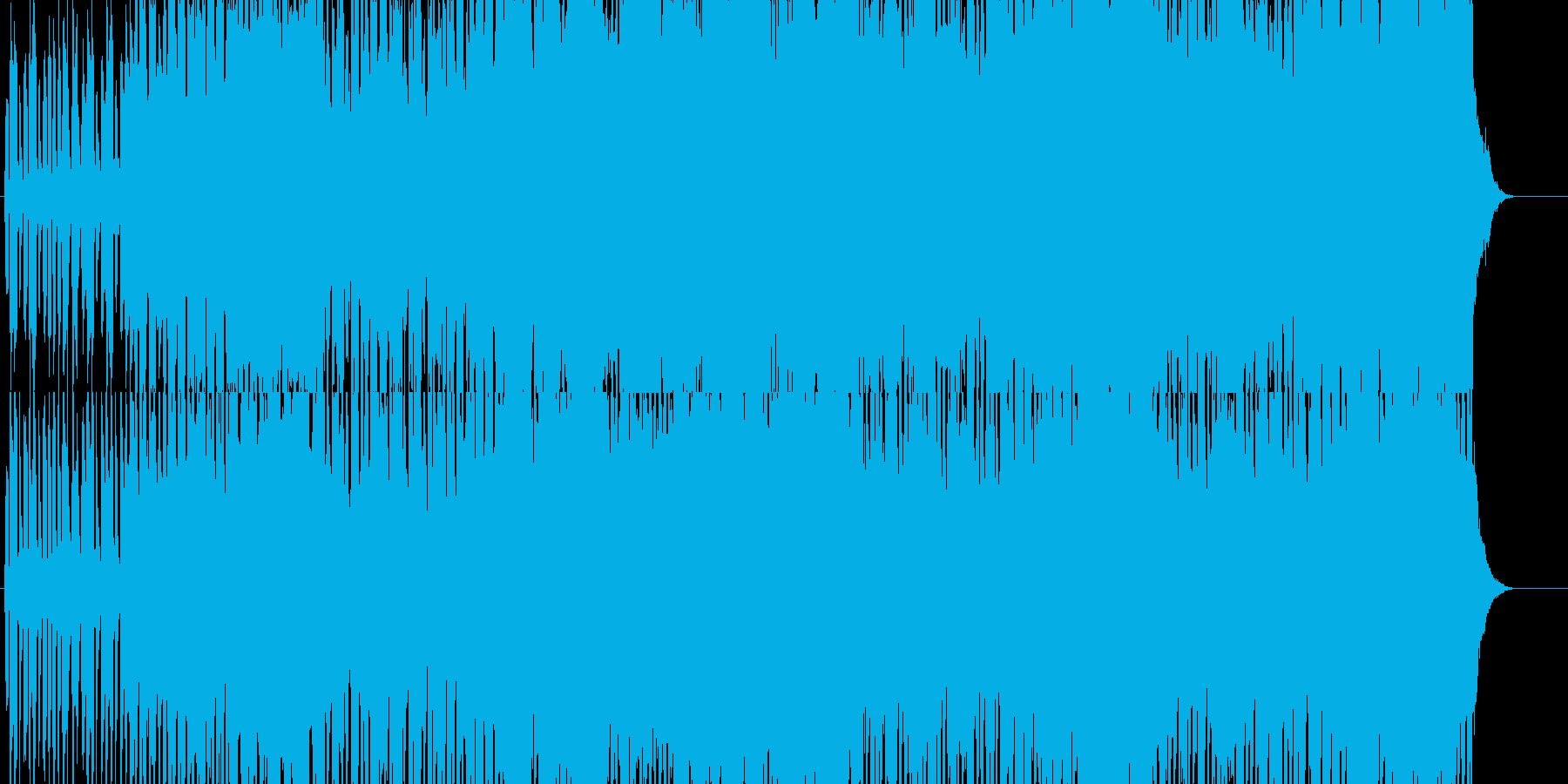 BGMで使えるファンタジー音楽の再生済みの波形