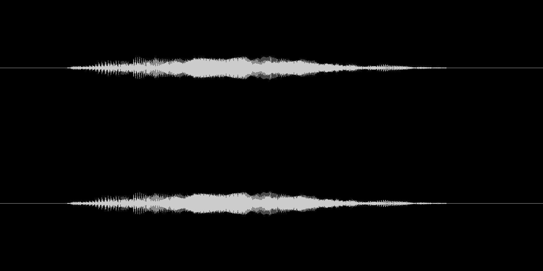 ニャー_猫声-07の未再生の波形