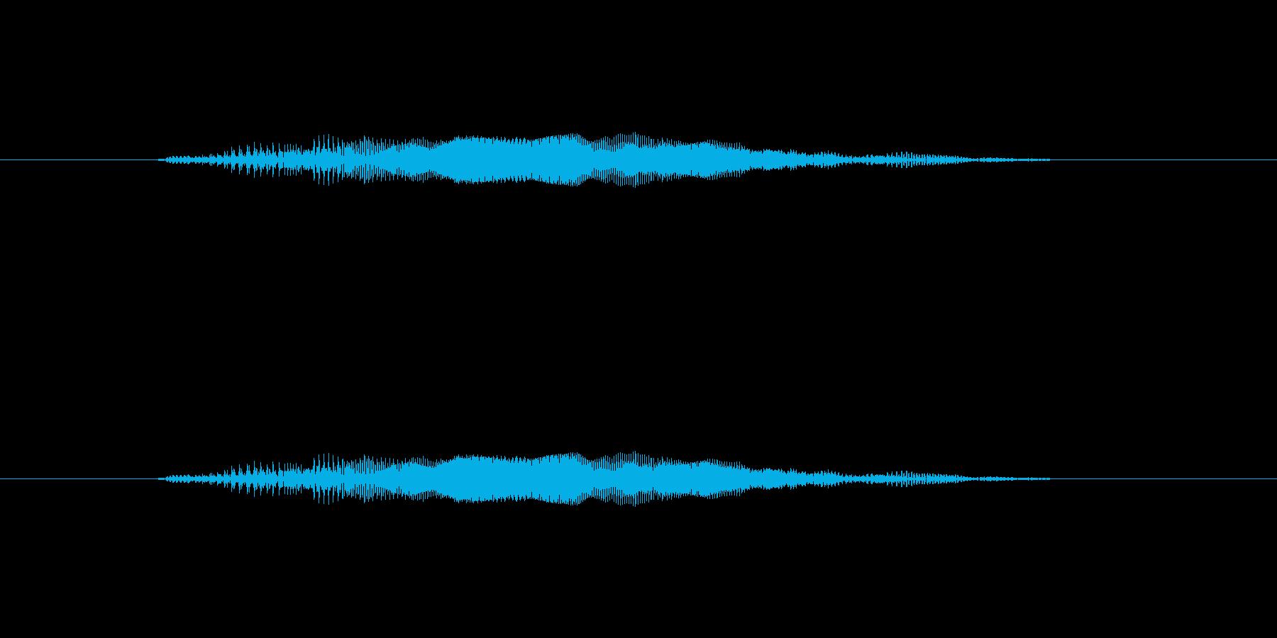 ニャー_猫声-07の再生済みの波形