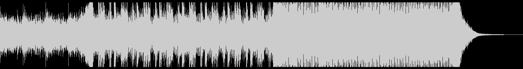 不思議な雰囲気のピアノインストの未再生の波形
