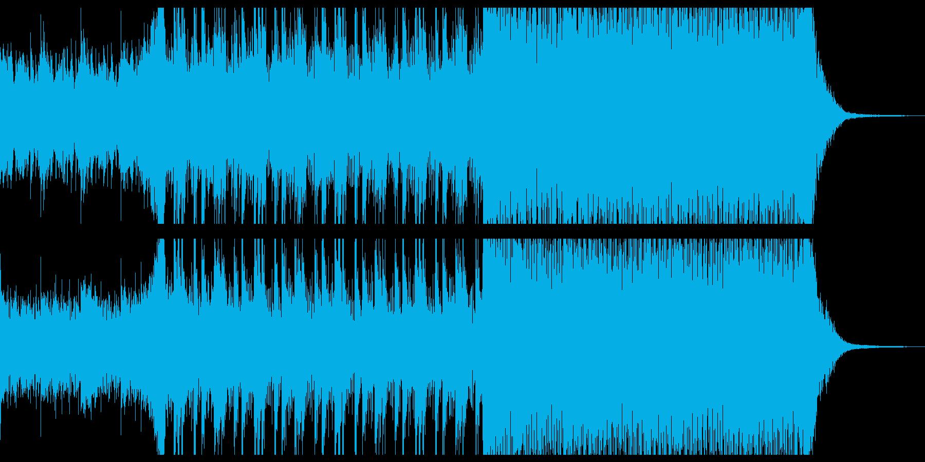 不思議な雰囲気のピアノインストの再生済みの波形