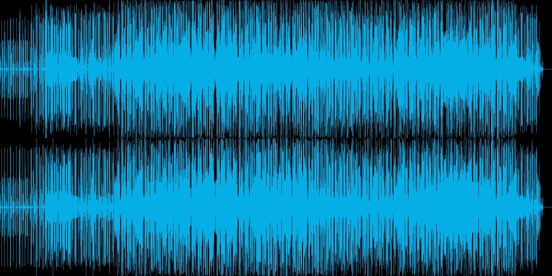 ブレイクビーツが奏でるヒップホップの再生済みの波形