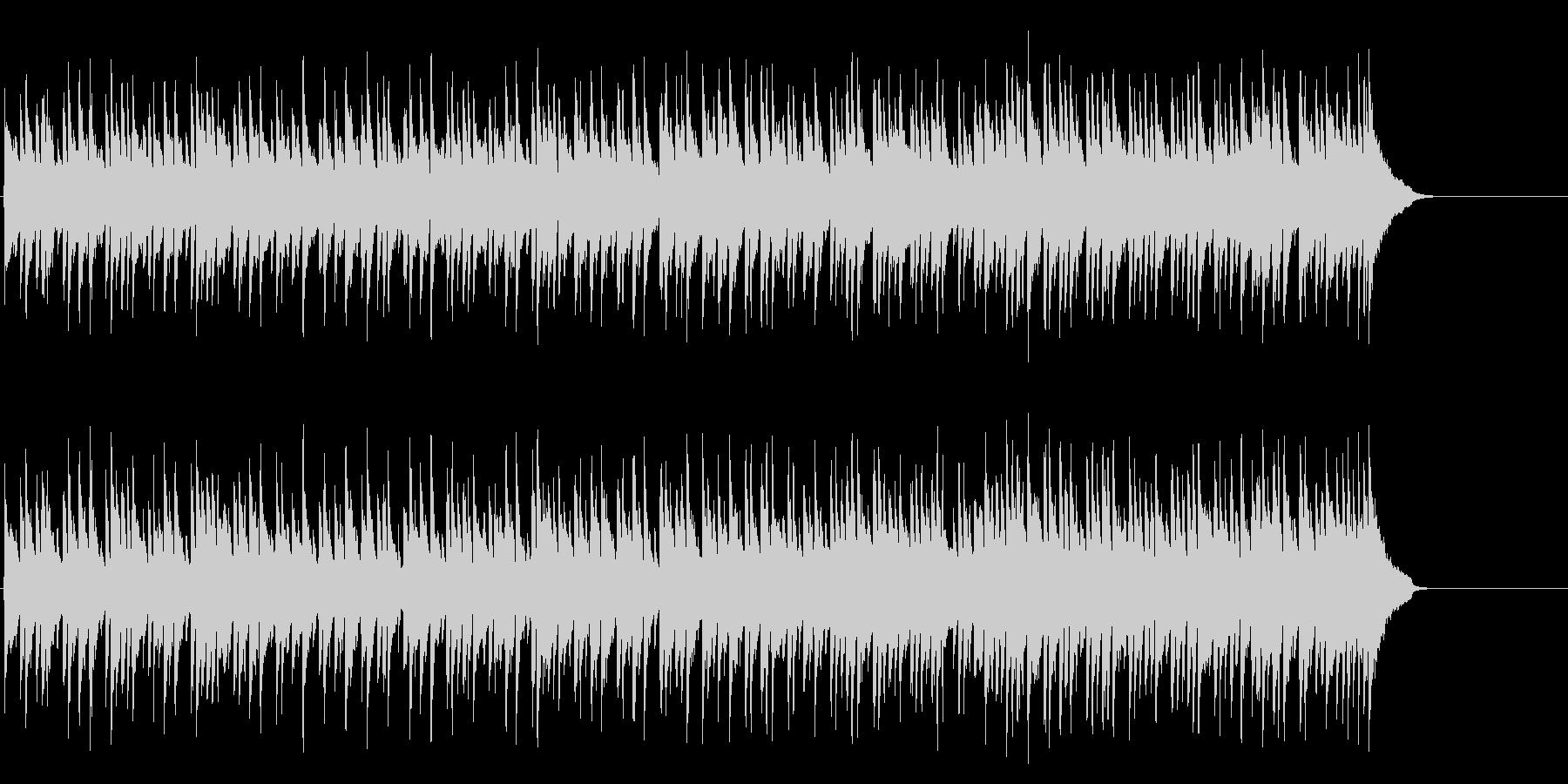 安らぐソフトなポップ(Aメロ~サビ)の未再生の波形