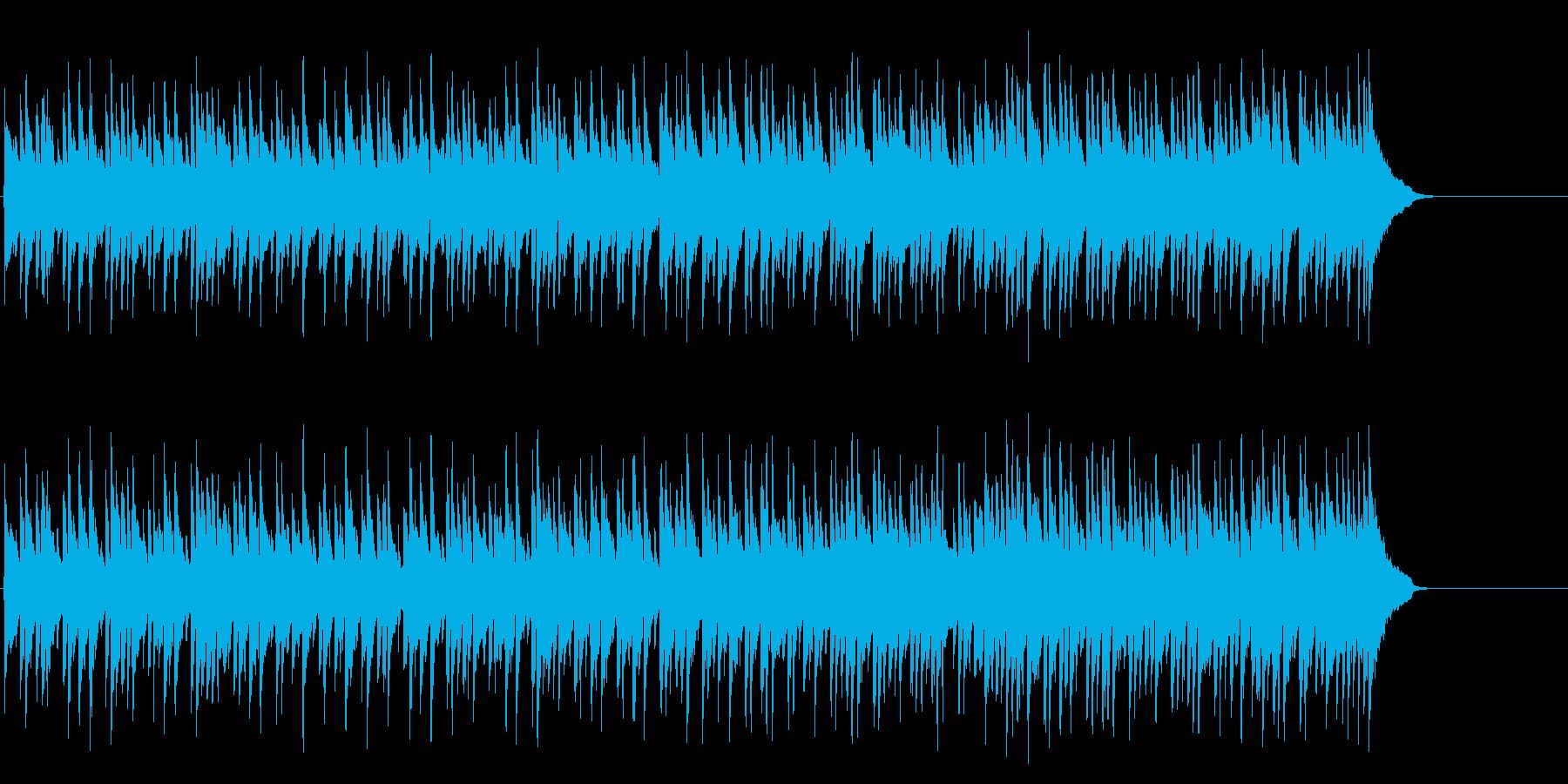 安らぐソフトなポップ(Aメロ~サビ)の再生済みの波形