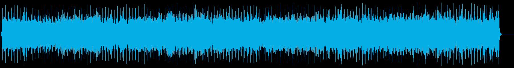 感動の終わりを迎える楽曲(フルサイズ)の再生済みの波形