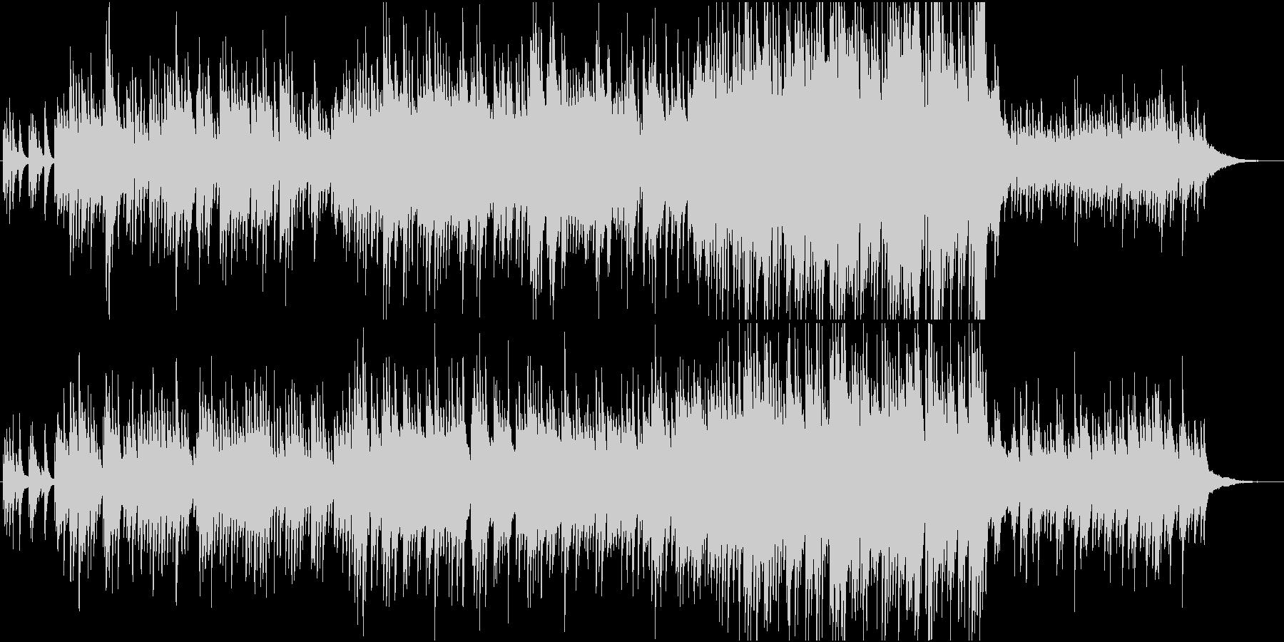 春のどこか切ないピアノの未再生の波形