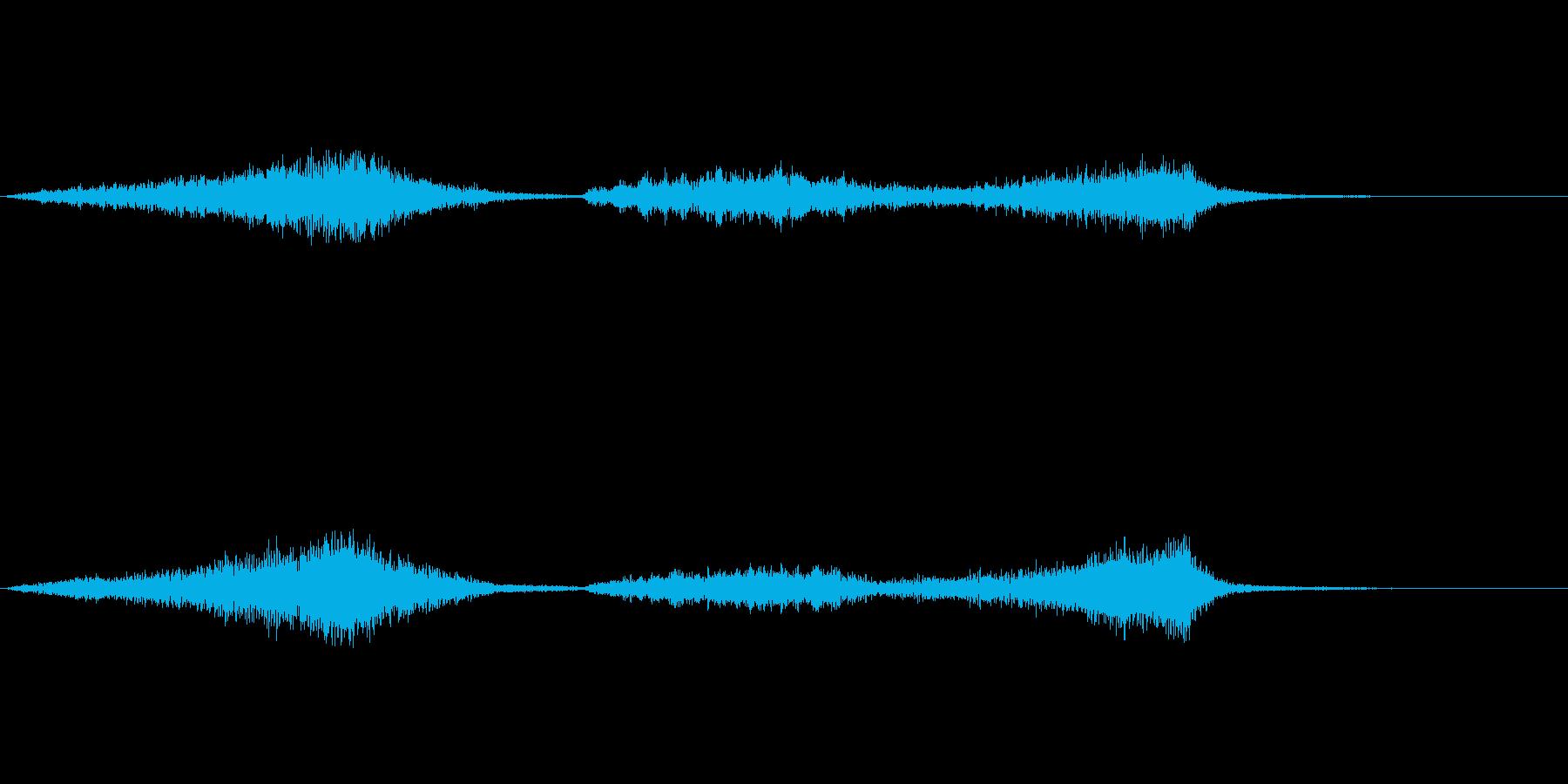 ホーンとブラスで緊迫感あるジングルの再生済みの波形
