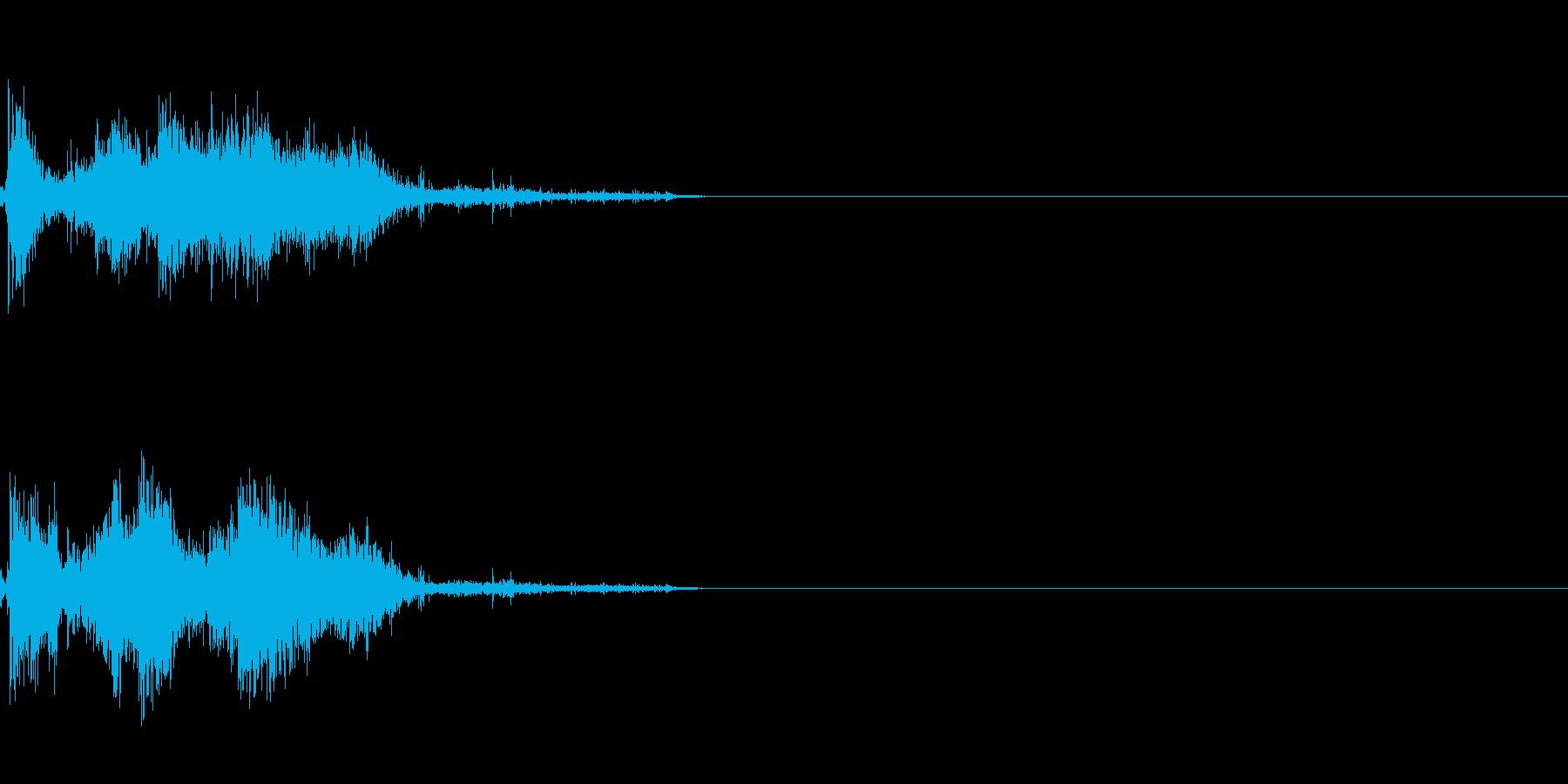 剣 攻撃音 3の再生済みの波形