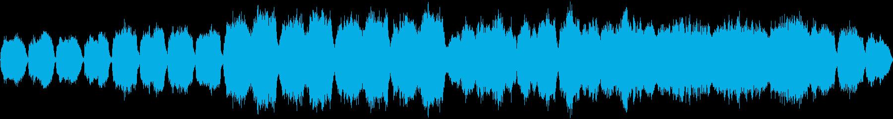 ストリングスで感情移入の再生済みの波形