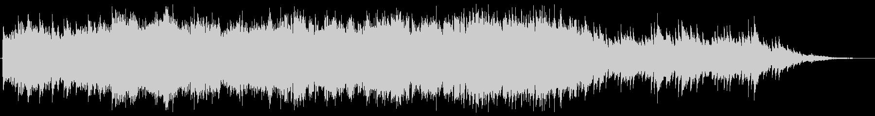 映像BGM(切ない、しっとり)の未再生の波形