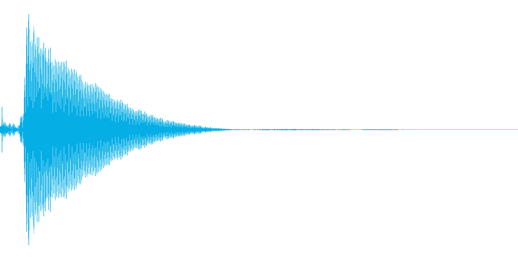 ポンッの再生済みの波形