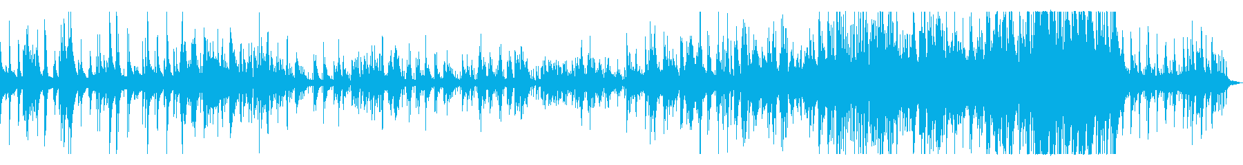 生ピアノの美しく切ないバラードの再生済みの波形