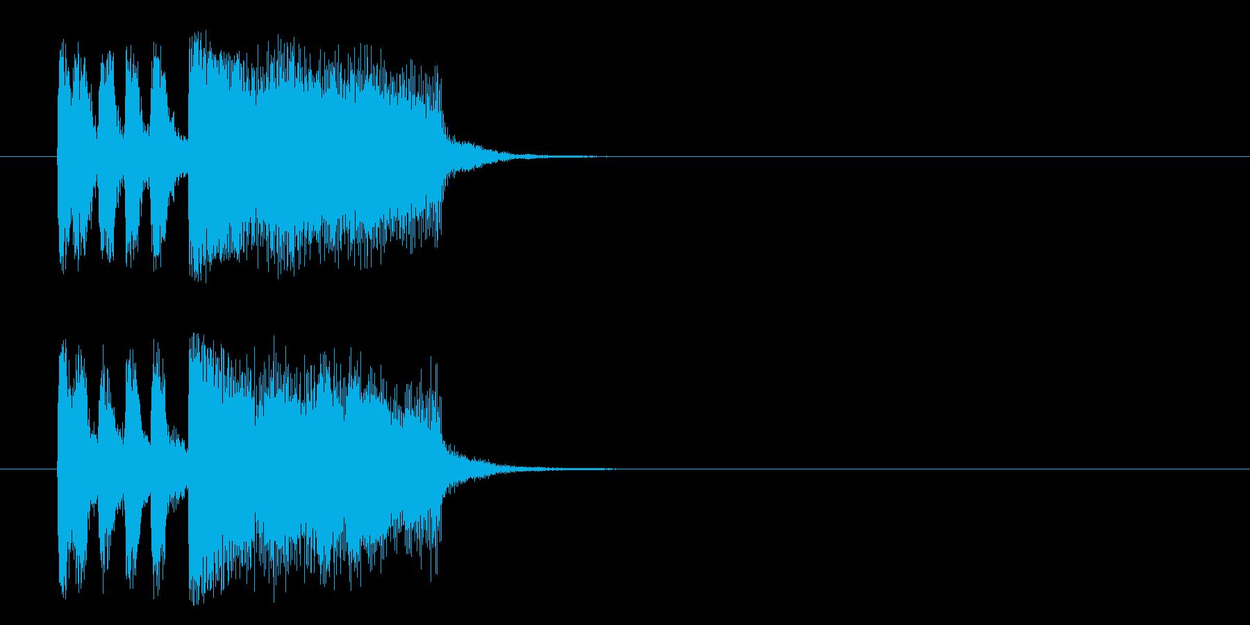ジングル/科学、報道、謎(フュージョン)の再生済みの波形