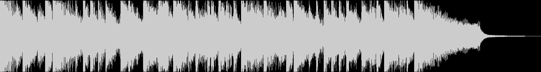 ニュース番組やCMにピッタリなピアノ曲の未再生の波形
