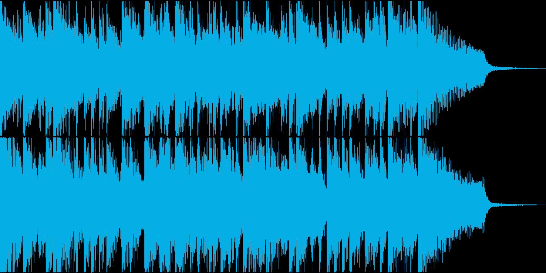 ニュース番組やCMにピッタリなピアノ曲の再生済みの波形