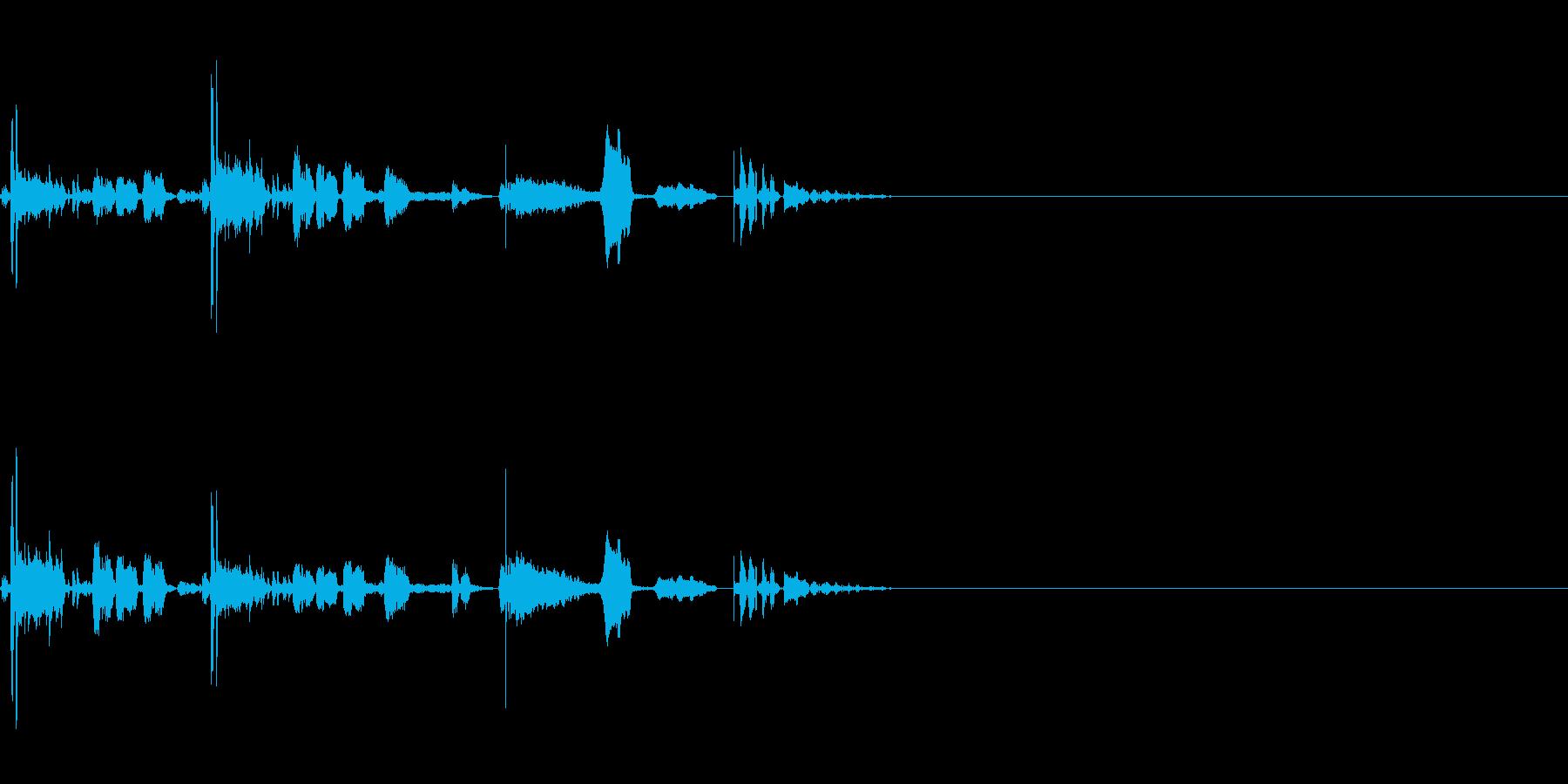 SF CinemaFX 未来生物の鳴き声の再生済みの波形