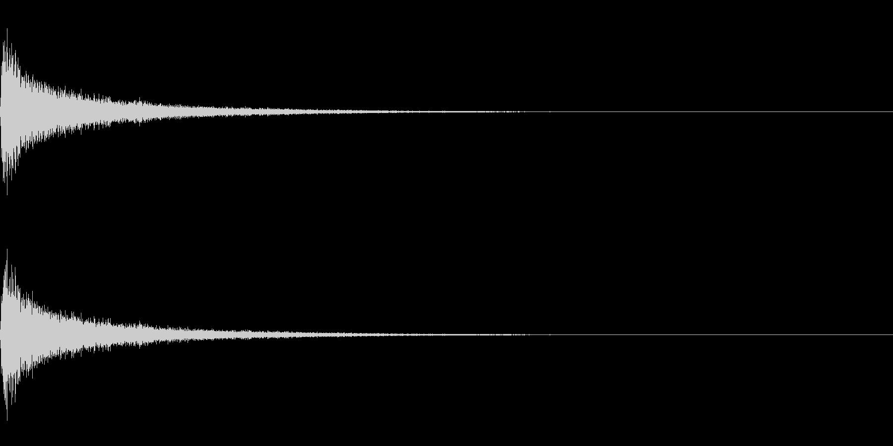 ティンパニーとシンバル☆ドン!3の未再生の波形