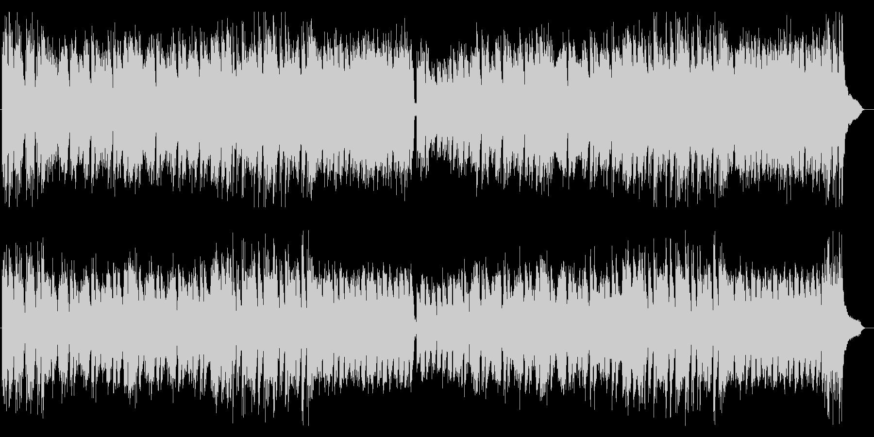 ほのぼの系癒しギター・シンセサウンドの未再生の波形