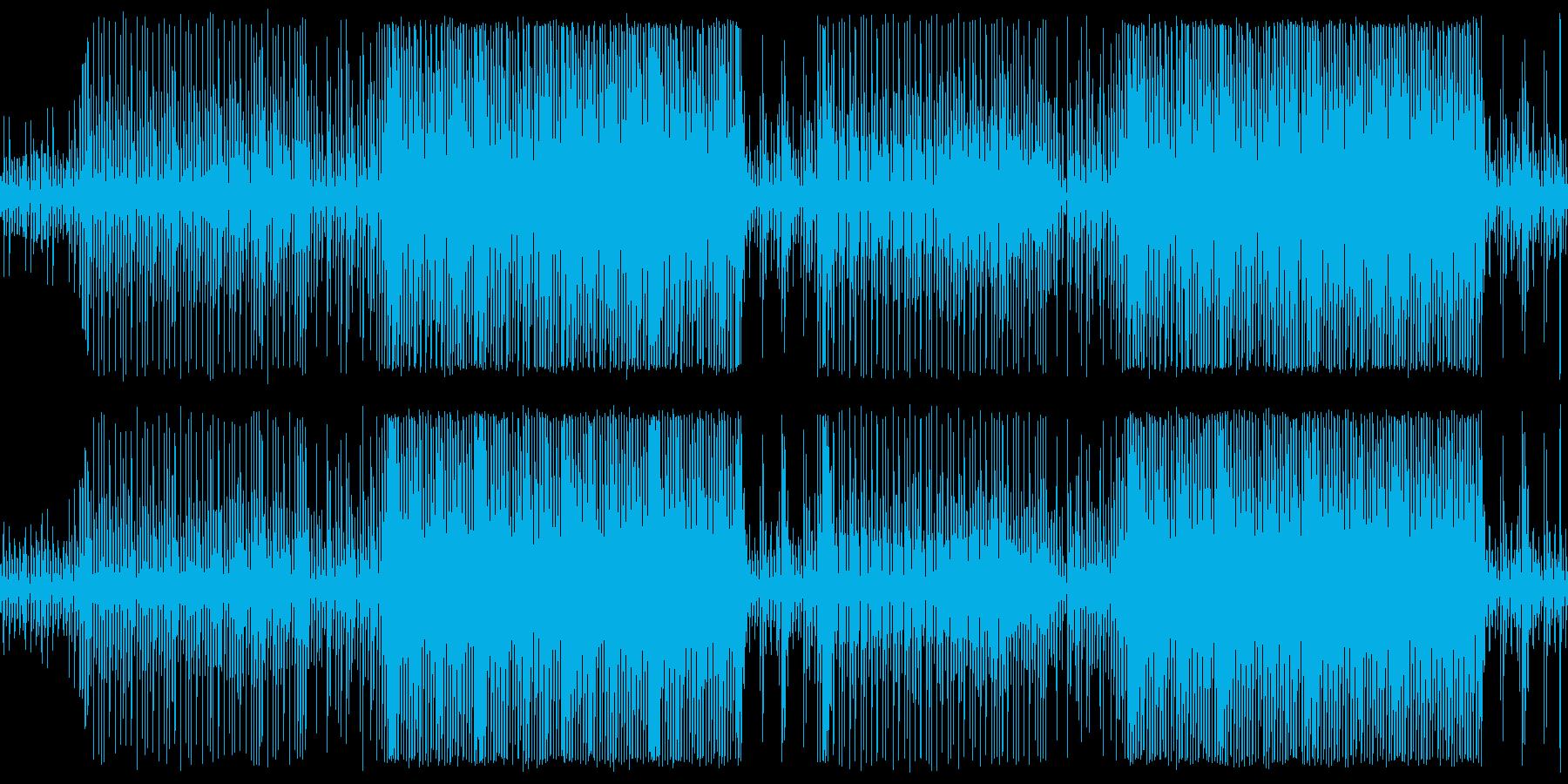 【メロディ抜き】おしゃれで軽快な映像向きの再生済みの波形
