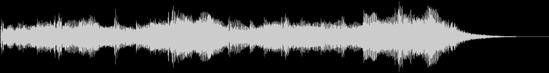 ダークアンビエントなストリングスBGMの未再生の波形