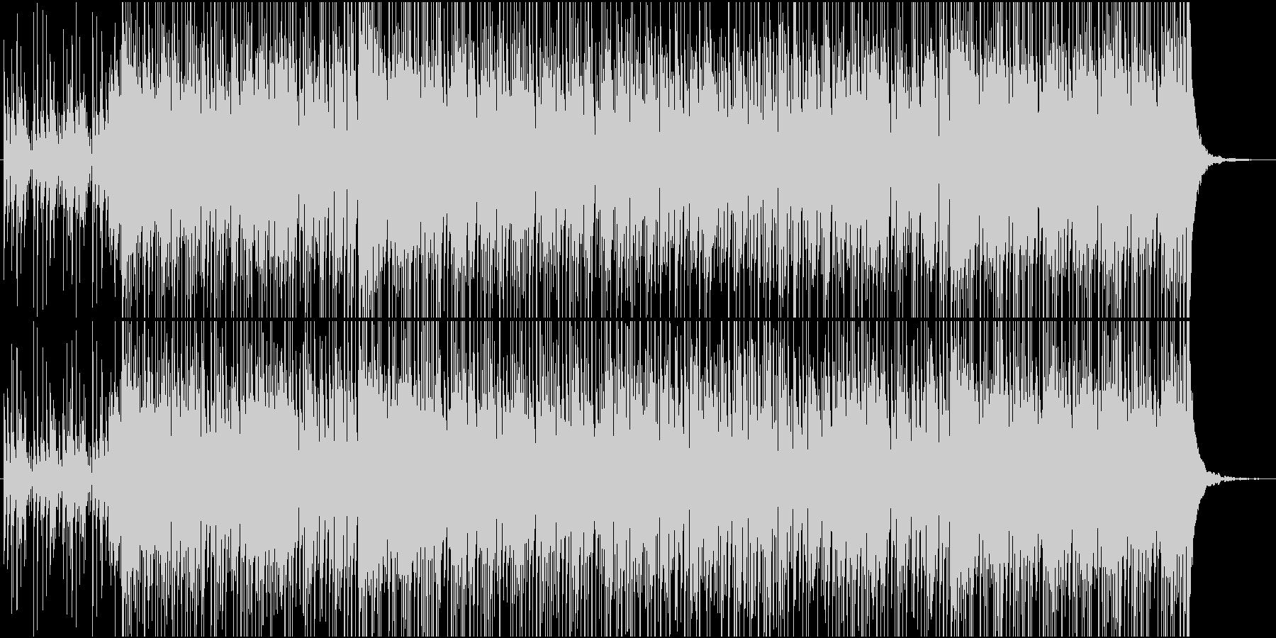 カリカリカリンバの未再生の波形