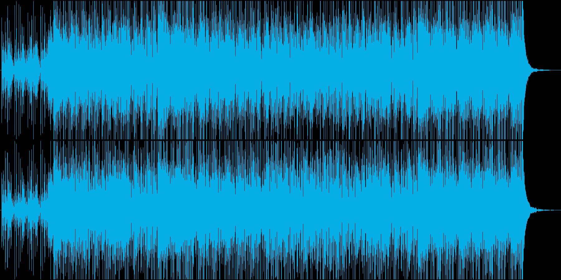 カリカリカリンバの再生済みの波形