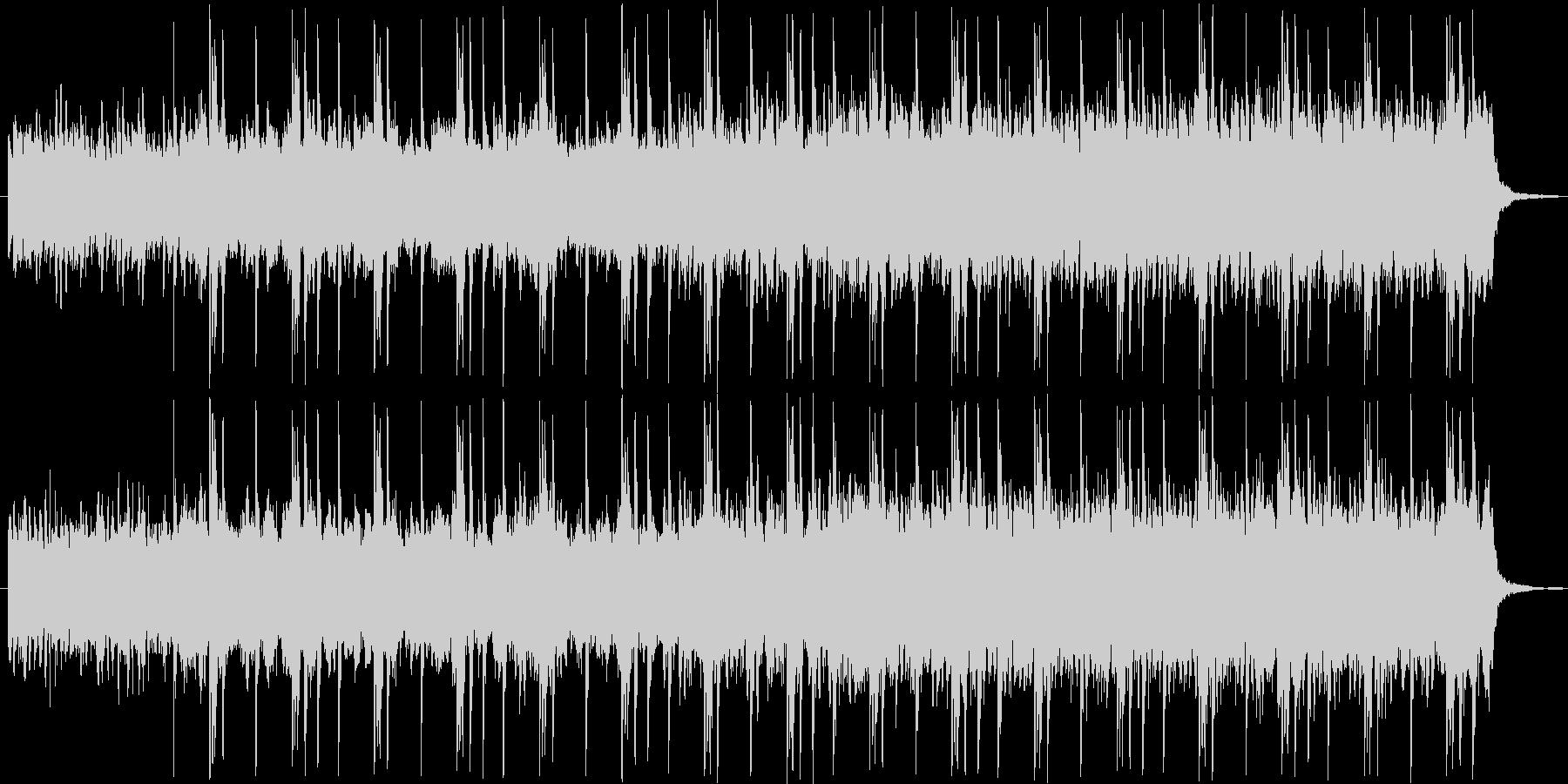 暗い感じのシンセの楽曲の未再生の波形