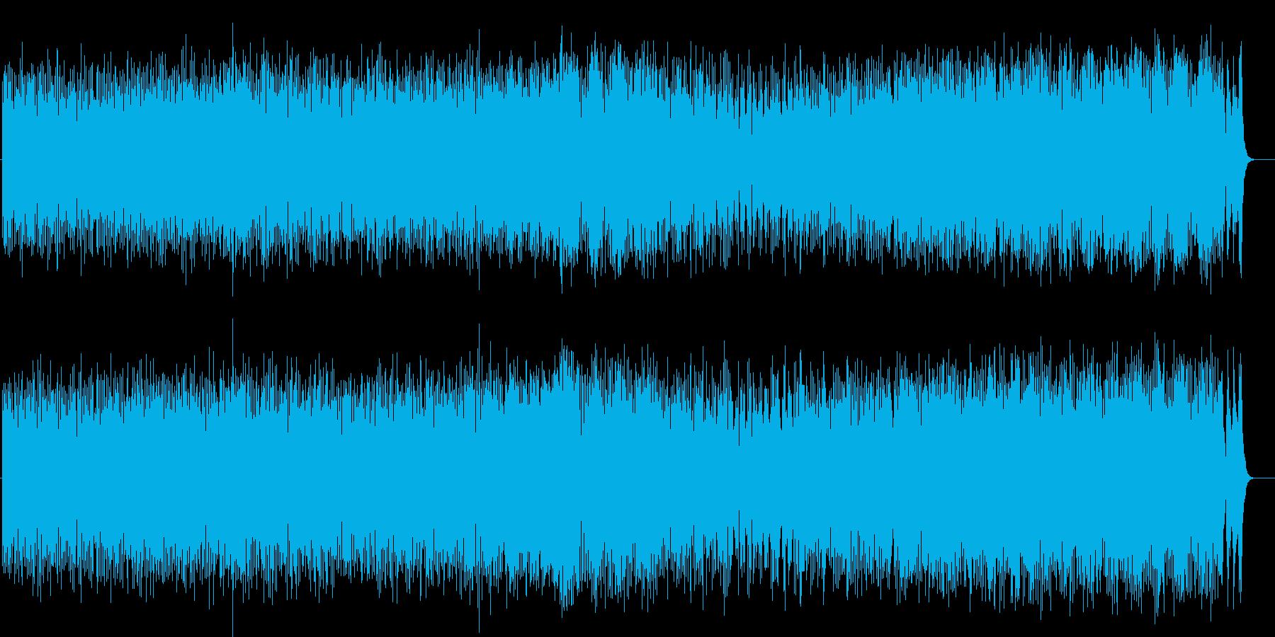 8ビートが快活なライト・ポップスの再生済みの波形