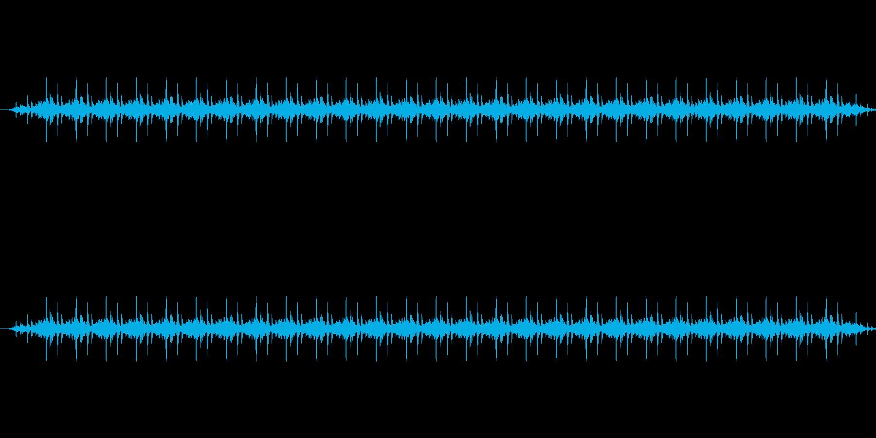 ガタンゴトンの再生済みの波形