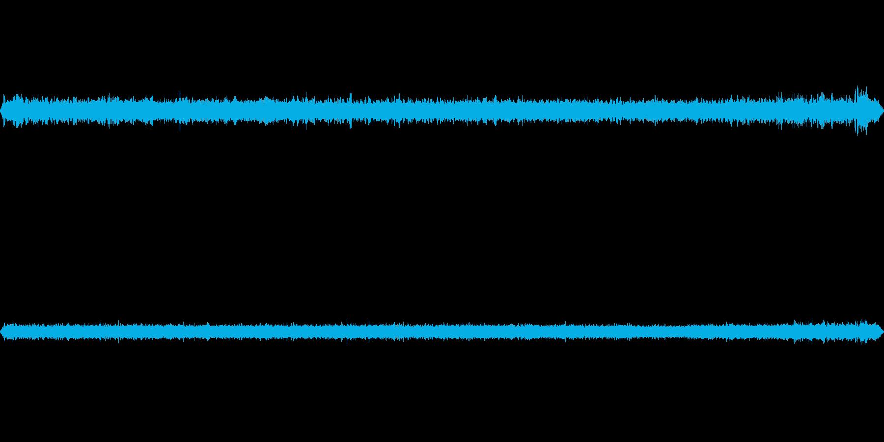 用水路から流れる音です。の再生済みの波形