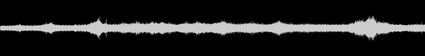 【生音】夏の日の通行音 - 1 「みー…の未再生の波形