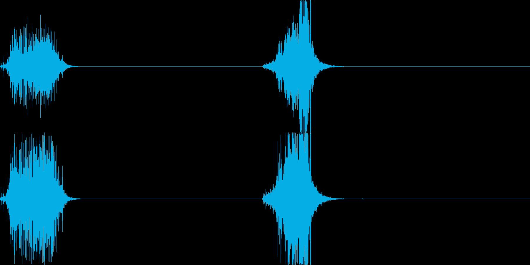 メジャー01の再生済みの波形