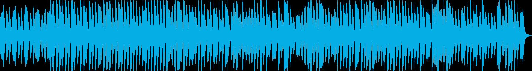 CM・企業VP用。60秒の明るいポップスの再生済みの波形