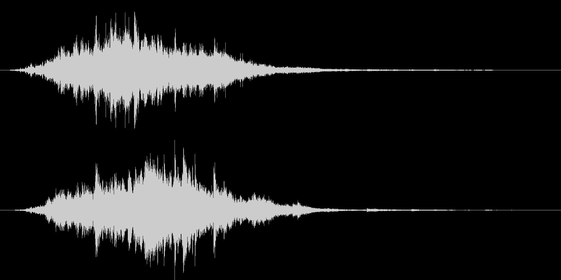 素敵な演出に綺麗なキラキラ音6(長め)の未再生の波形