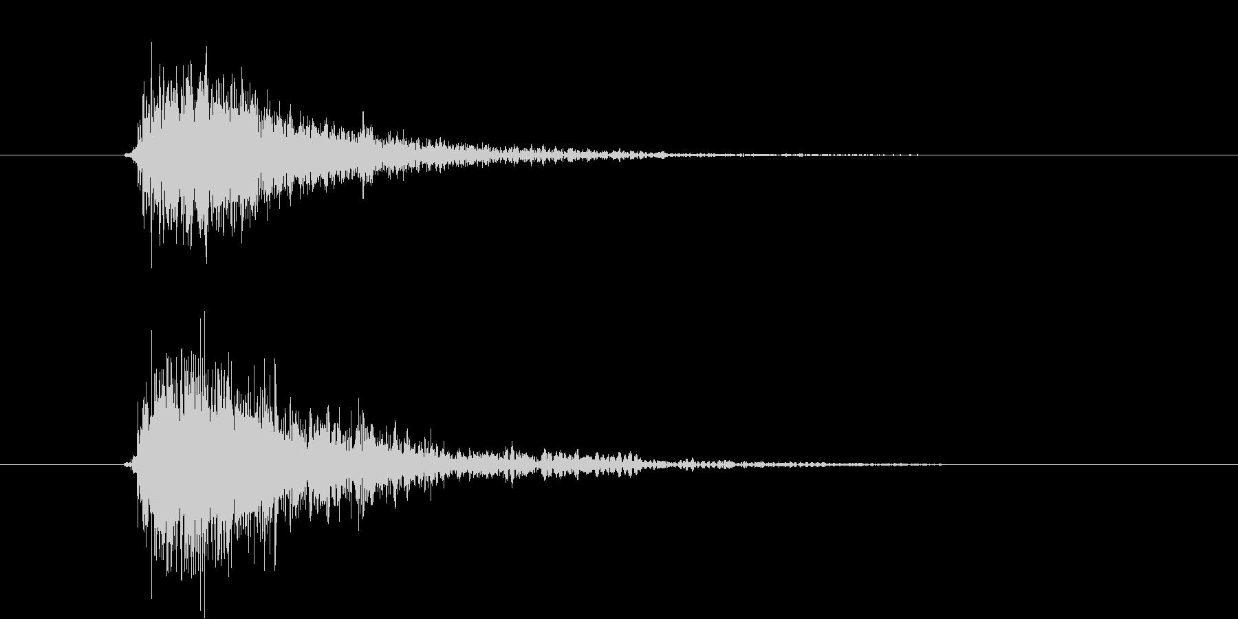 ガシュン(機械、ロボ、発射)の未再生の波形