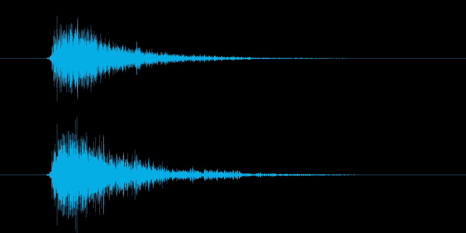 ガシュン(機械、ロボ、発射)の再生済みの波形