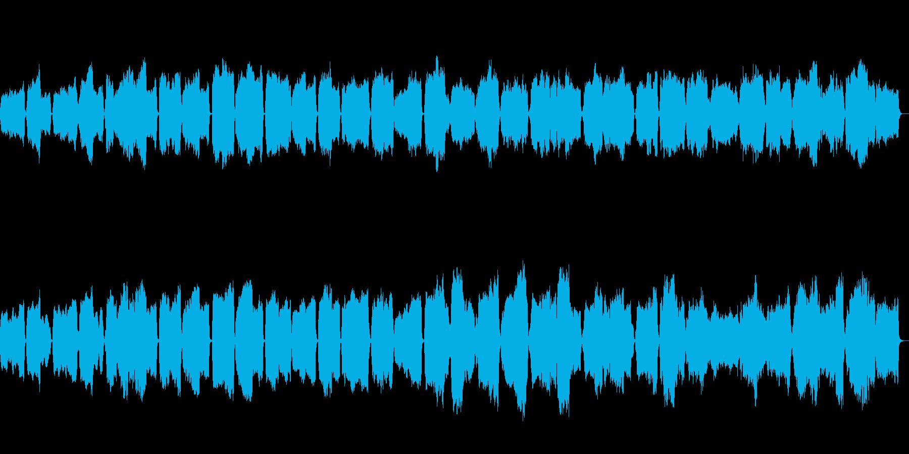 吹奏楽器のみで構成したとても悲しい人の…の再生済みの波形