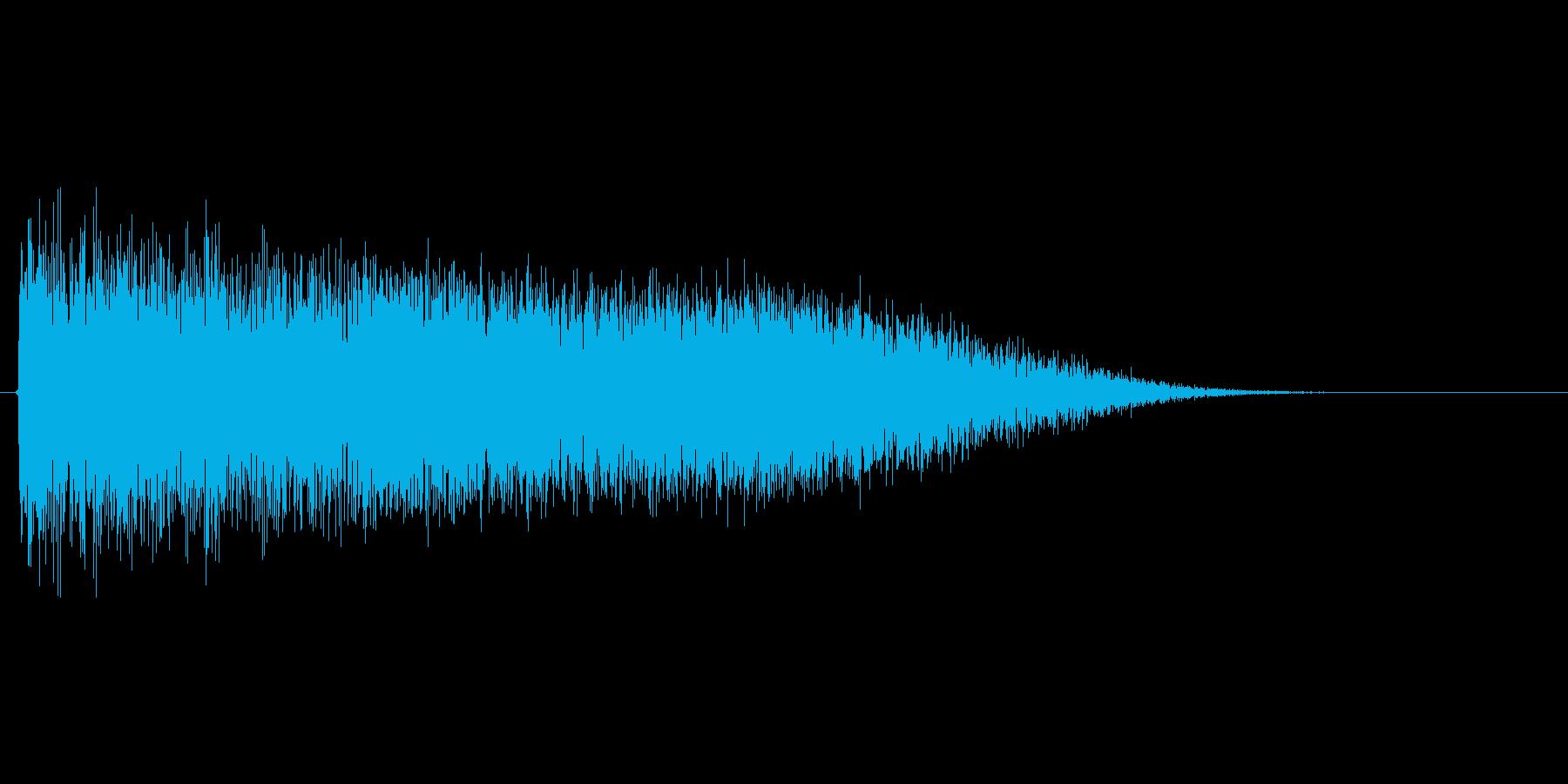 強力なビームを放つ前のチャージSEの再生済みの波形