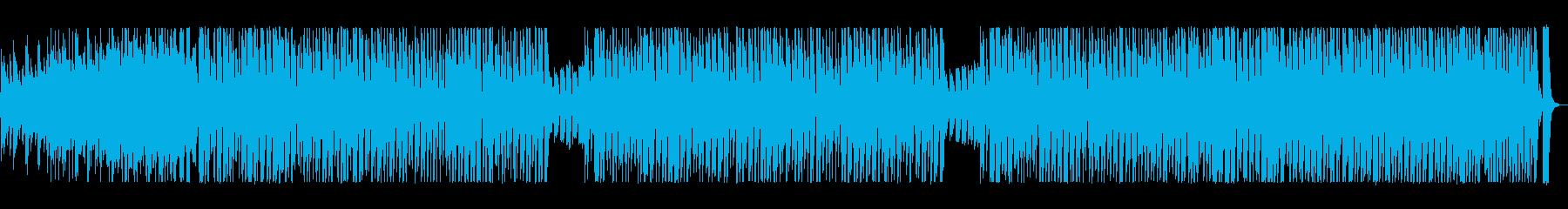 アコーディオンが軽快なポップ曲の再生済みの波形