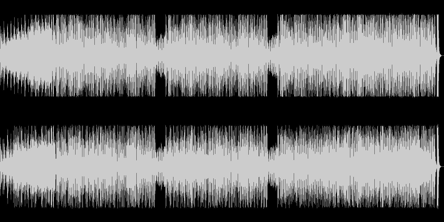 アコーディオンが軽快なポップ曲の未再生の波形