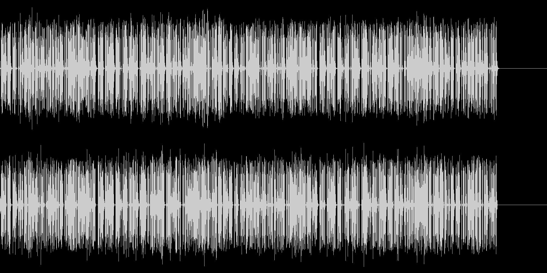 ジリジリジリ…古い放射能測定器の音の未再生の波形