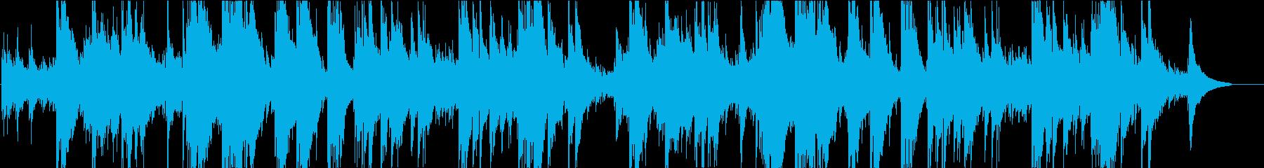 アコースティックギターソロ(EPfなし)の再生済みの波形