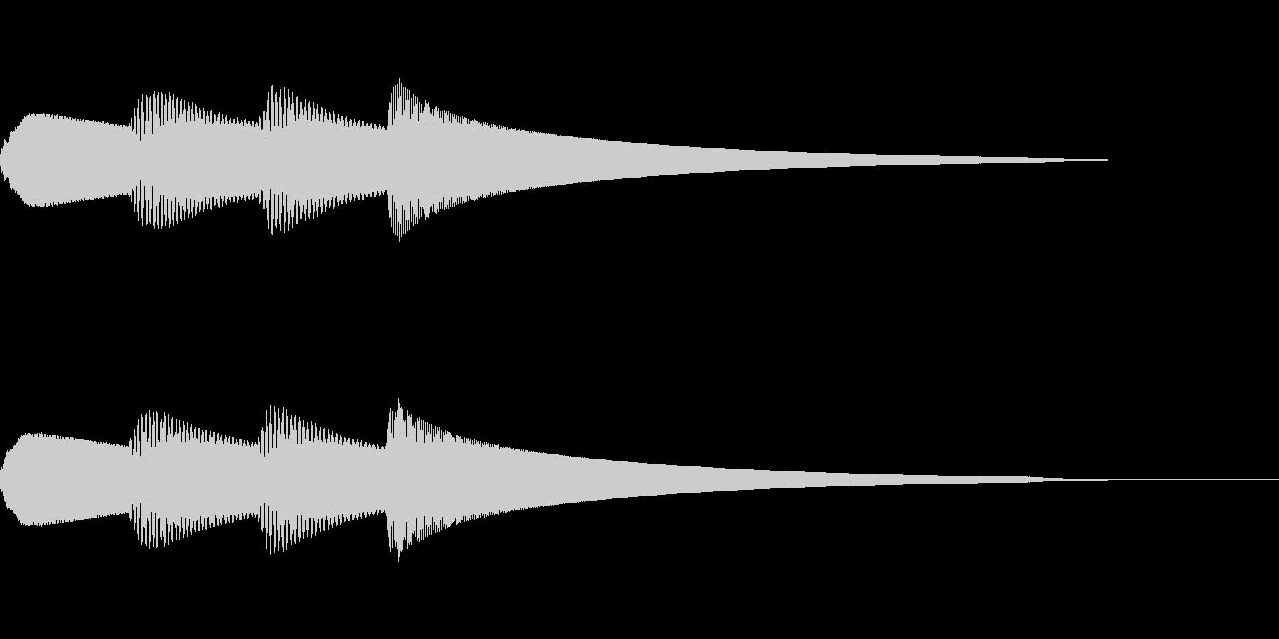 ピンポンパンポン 館内放送 IN_01の未再生の波形