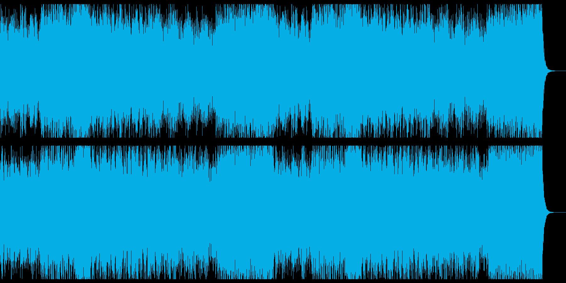 狂気が迫り来る激しいストリングスホラーの再生済みの波形